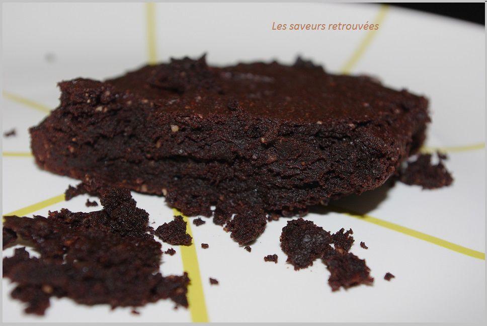 Fondant Très chocolaté sans gluten