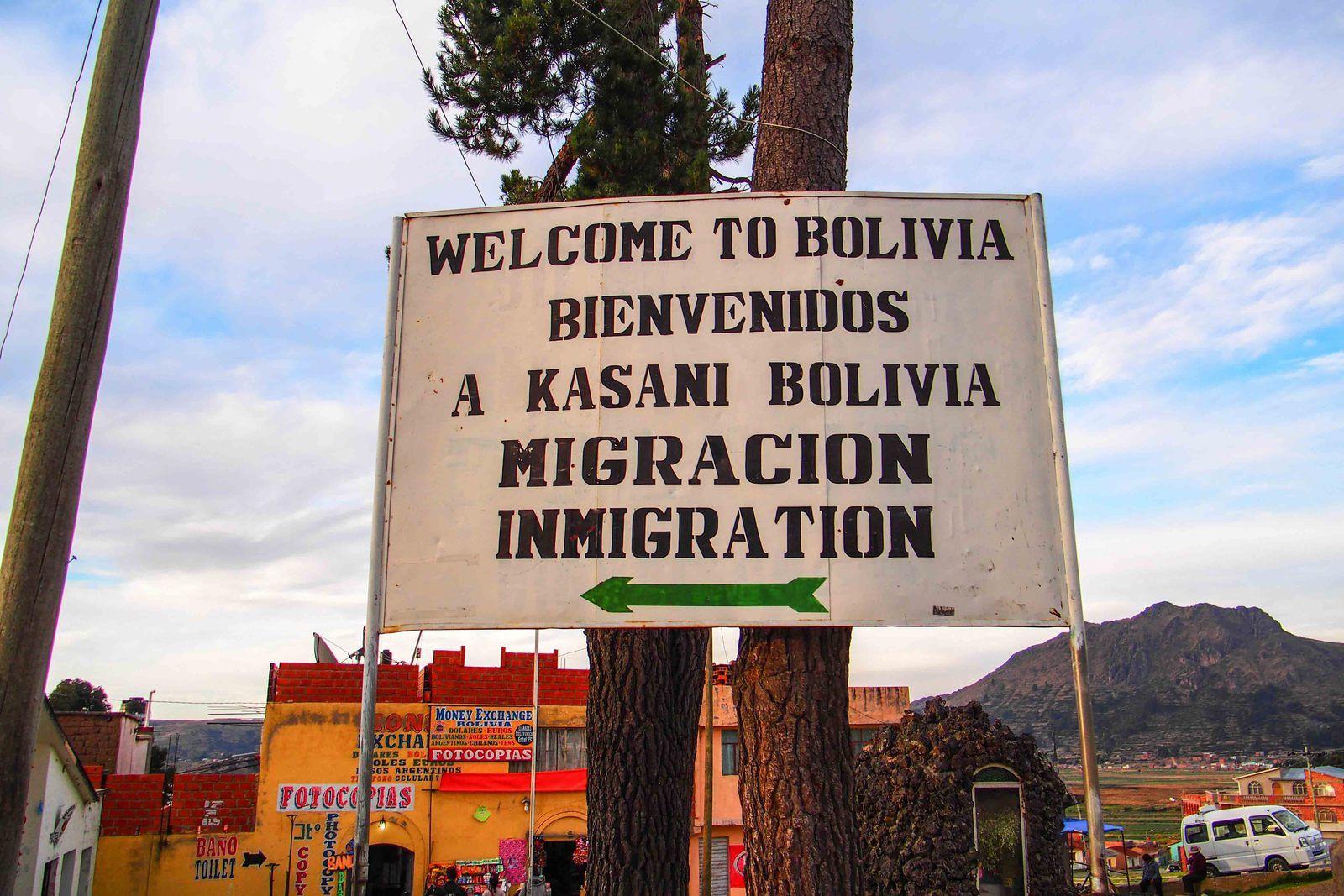 La Bolivie, première.