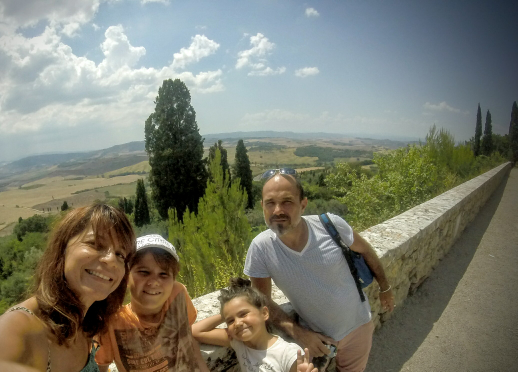 La Toscane, vue depuis Montalcino
