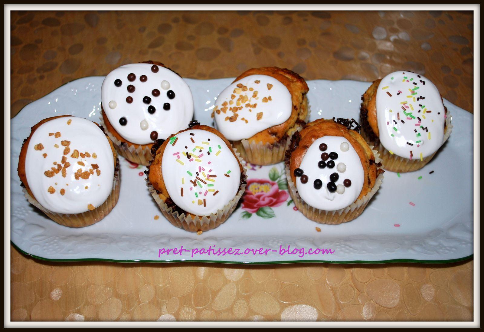 Cupcakes au chocolat Milka