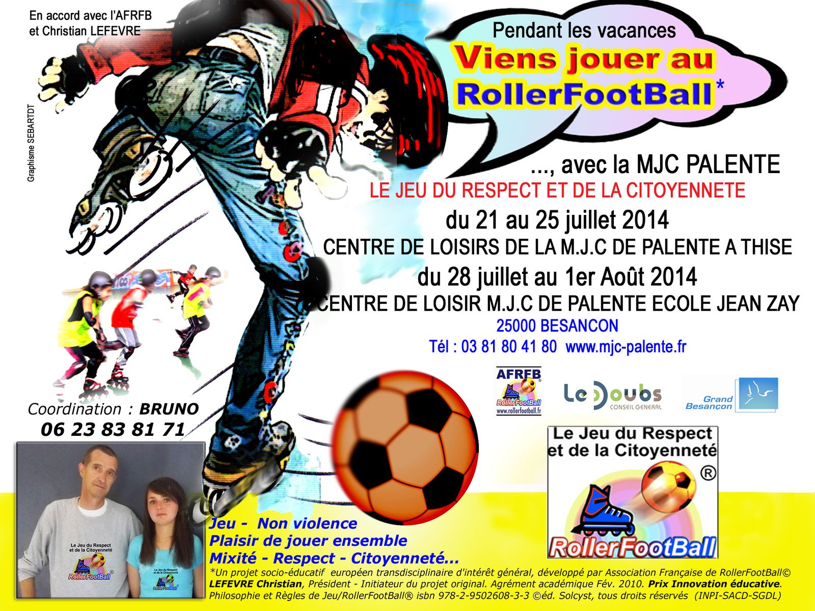 Stage de RollerFootBall
