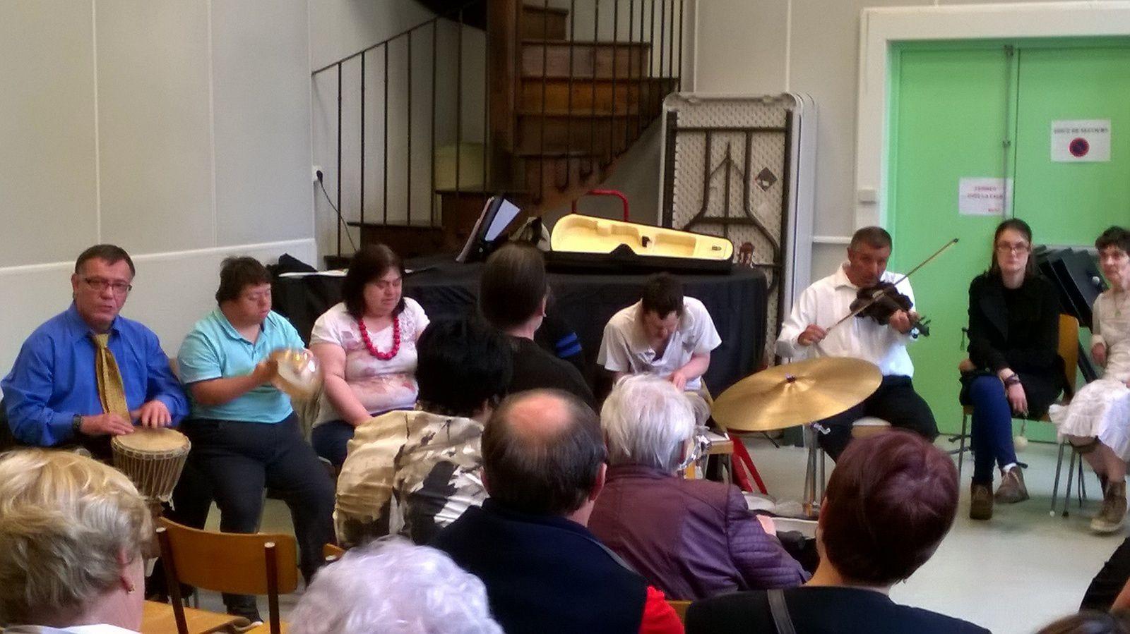 Aubade de l'atelier Musique