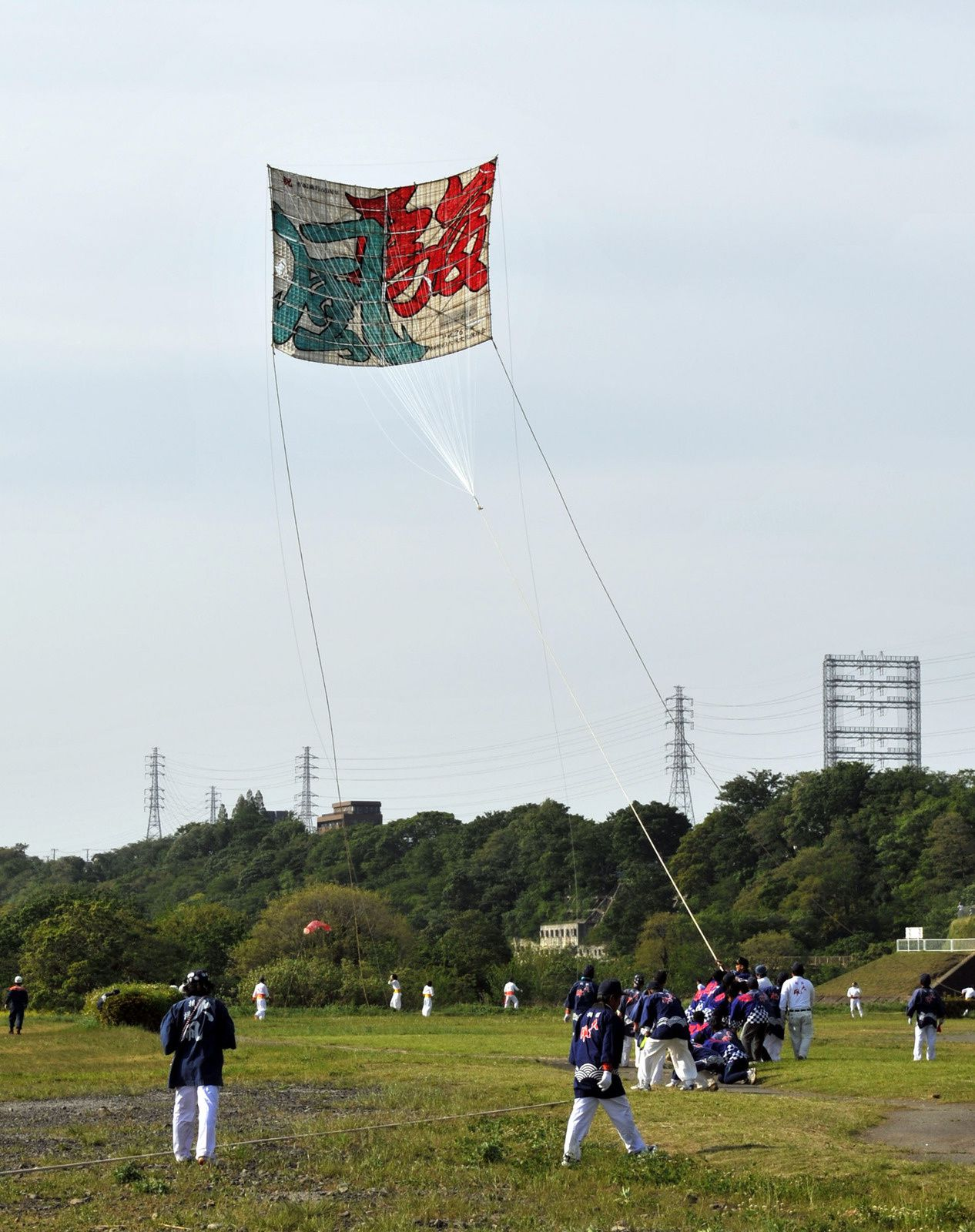 Large kite-flying of Sagami 2