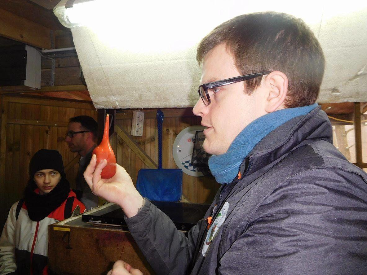 Visite de l'écloserie de la Ligue de l'Est le 11 février