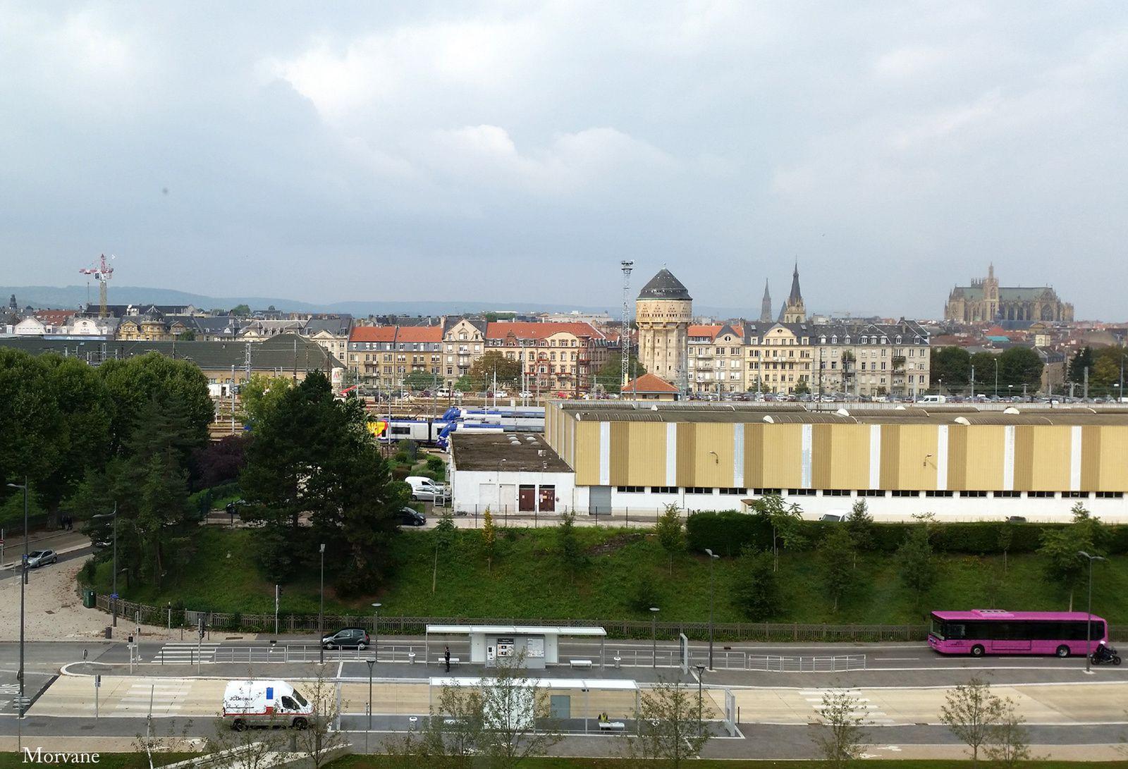 A Metz, il n'y a pas que la cathédrale qui élève l'âme… Le Centre d'Art moderne Pompidou aussi !