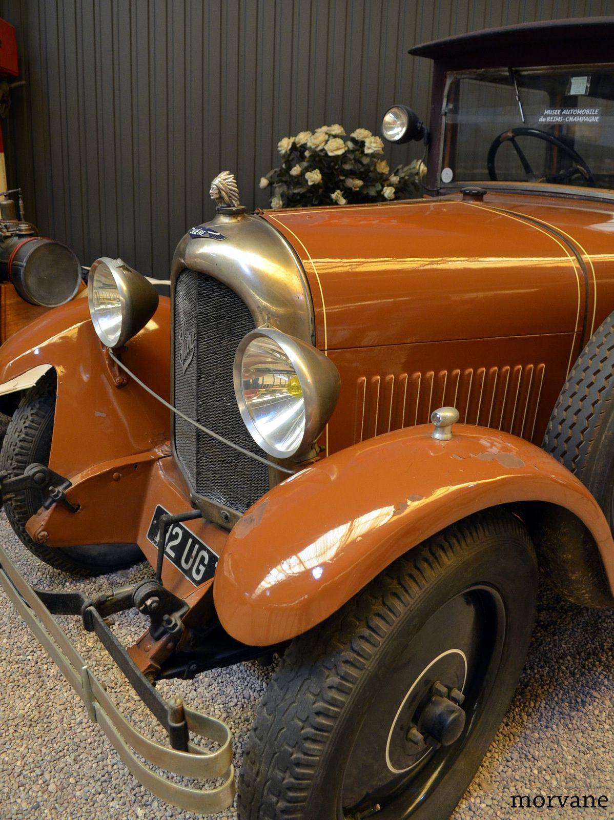 SUERE Type D. Berline Landolet. 80 km/h. 1925.