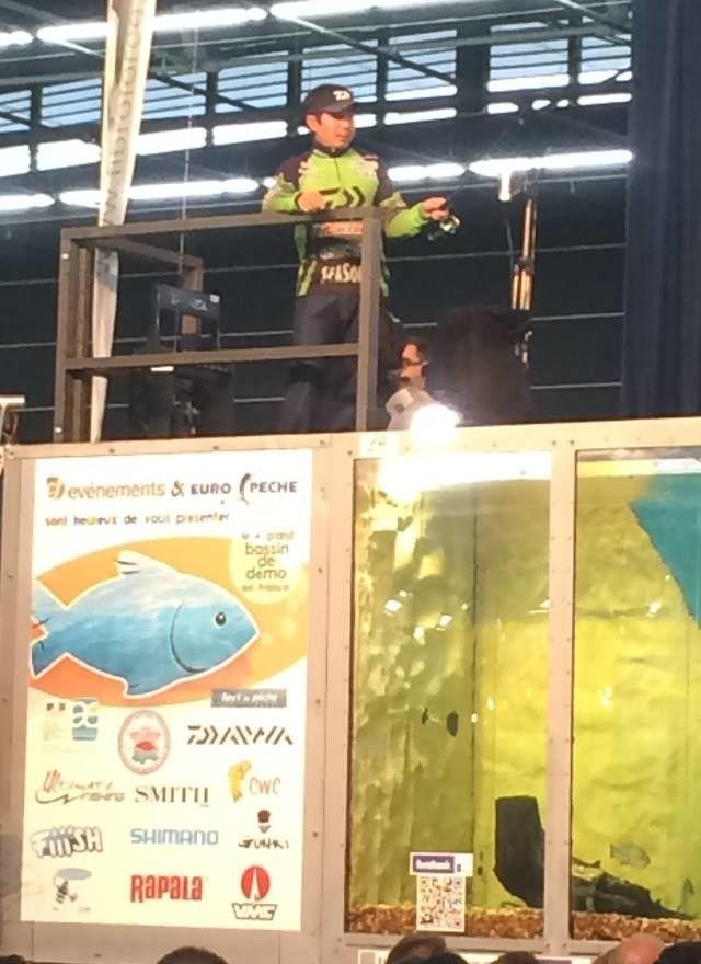 Salon de la pêche de Clermont Ferrand