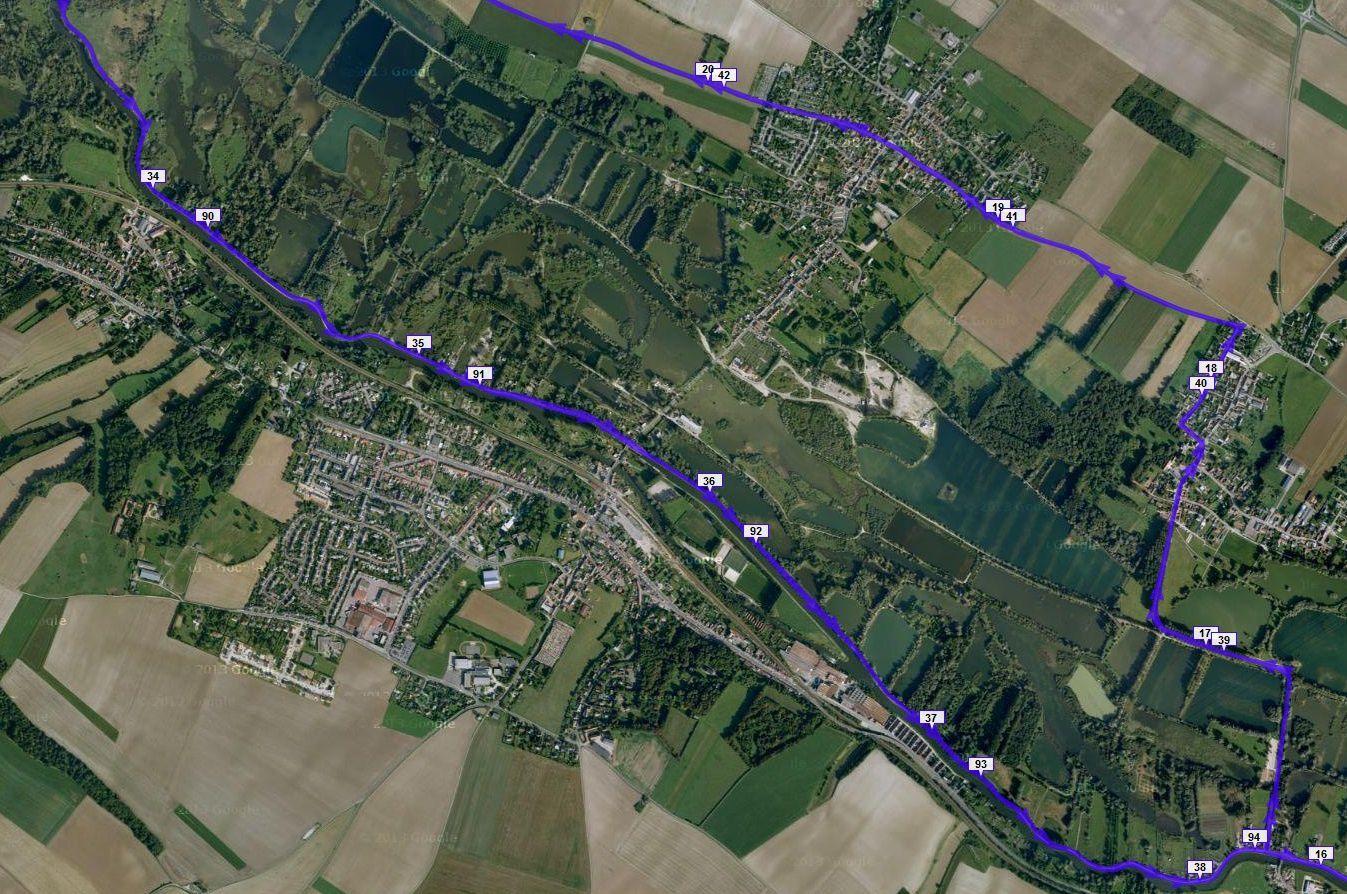 100km d'Amiens 2015