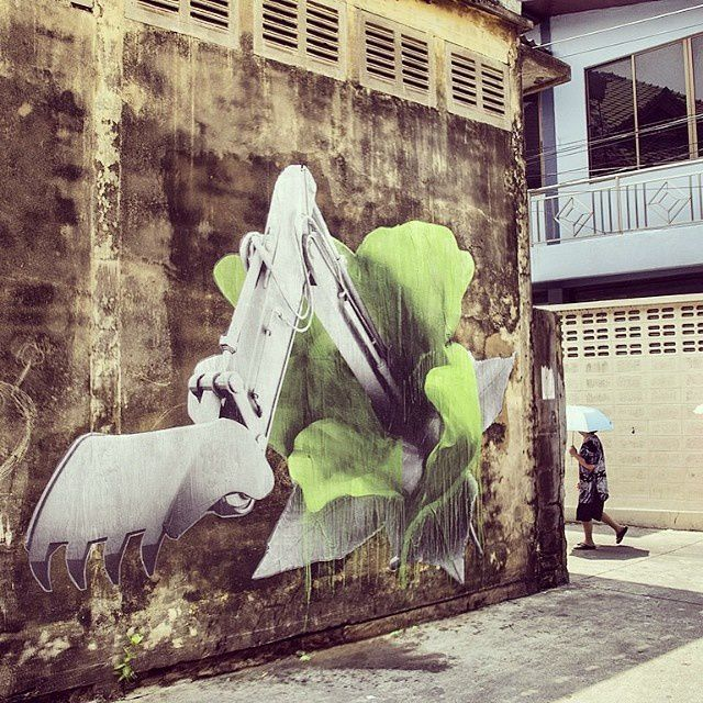 Ludo new murals in Bangkok