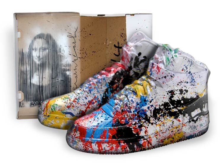Mr.Brainwash &quot&#x3B;Just Did It&quot&#x3B;