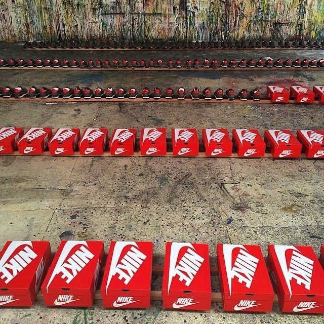 Mr.Brainwash &quot&#x3B;Just Did It&quot&#x3B;/MBW Shoes