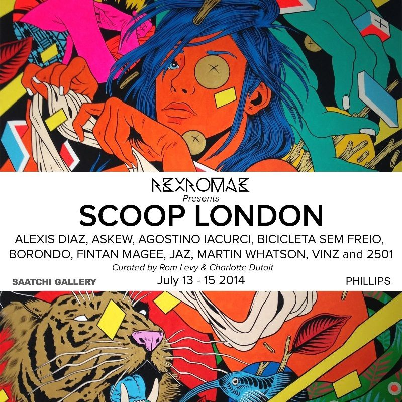 Rex Romae &quot&#x3B;Scoop London&quot&#x3B; new exhibition