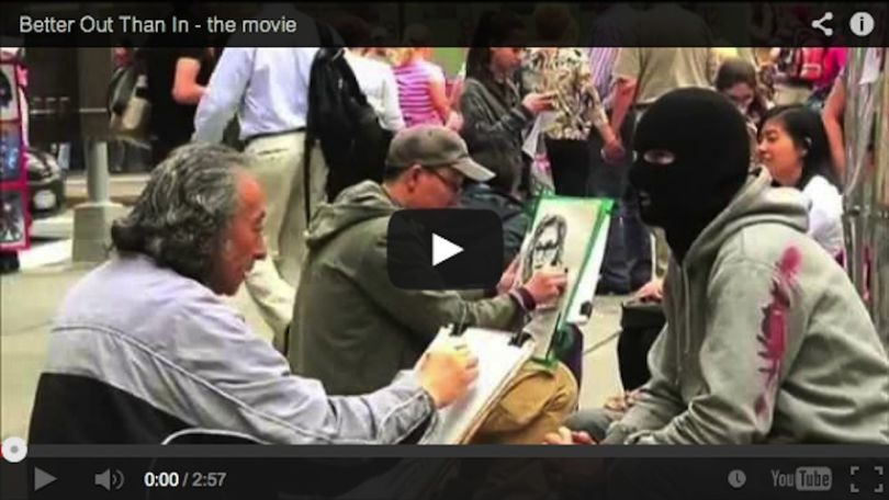 &quot&#x3B;Banksy Does New York&quot&#x3B;, a movie about Banksy