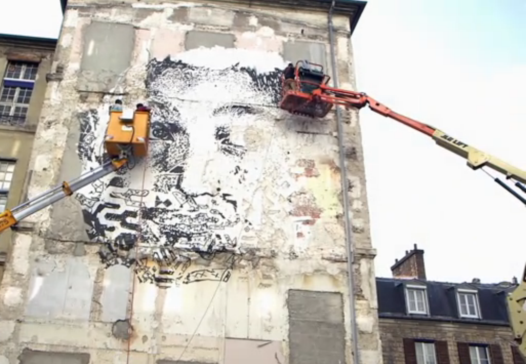 Vhils interview video