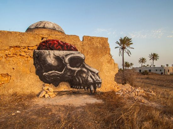 Roa interview video in Djerbahood