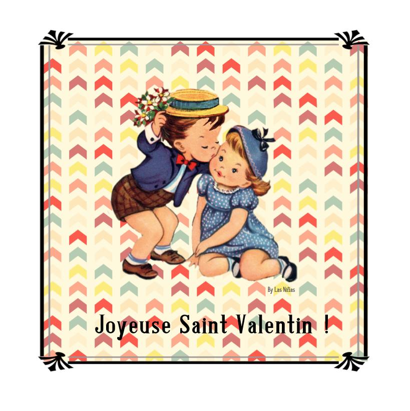 St Valentin By Las Niñas - Free Printable