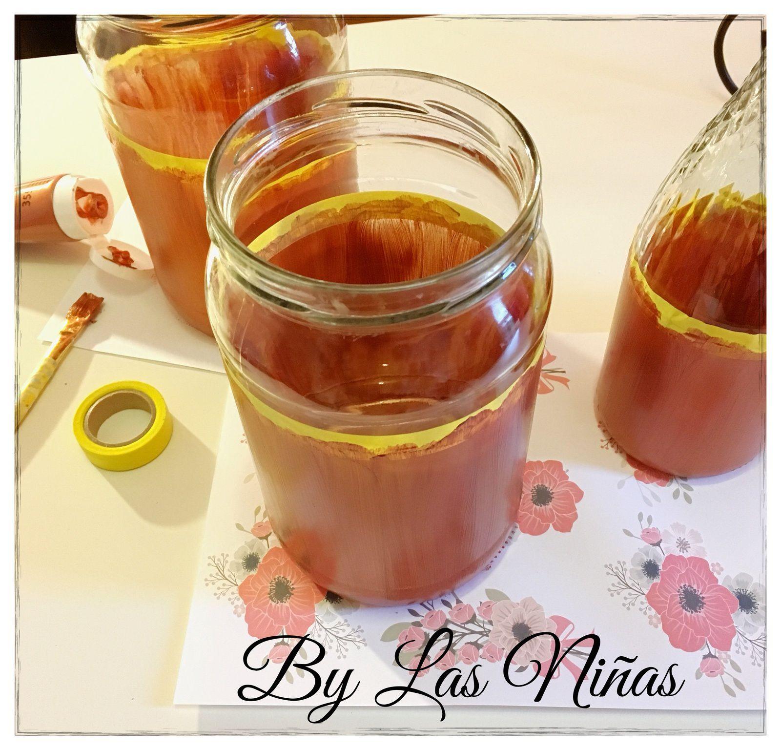 Transformez vos bouteilles et vos bocaux en jolis vases. D.I.Y.