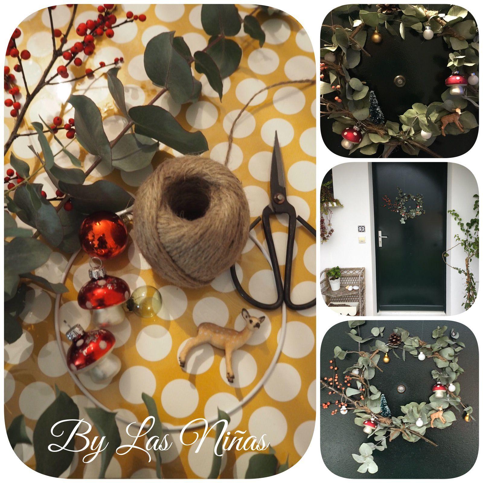 Des créations de Noël et une idée pour réaliser une jolie couronne.