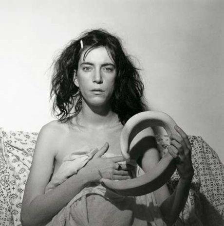 Patti Smith 1978 50,8 x 40,6 cm Épreuve gelatino-argentique New York, Fondation Robert Mapplethorpe © Robert Mapplethorpe Foundation.