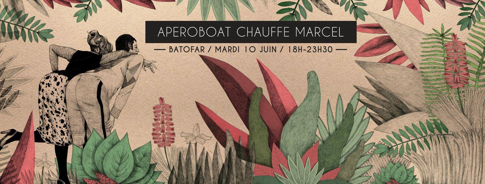 Aperoboat Chauffe Marcel - Batofar