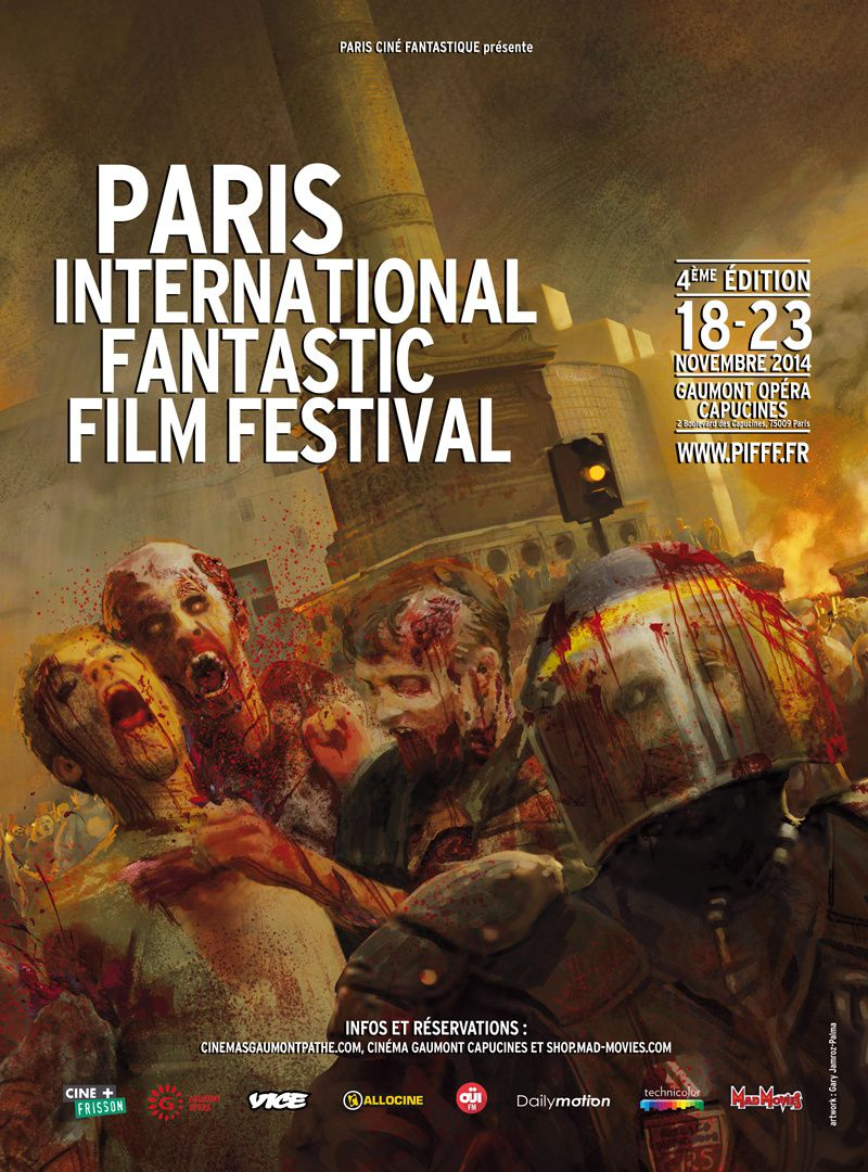 Le PARIS INTERNATIONAL FANTASTIC FILM FESTIVAL revient !
