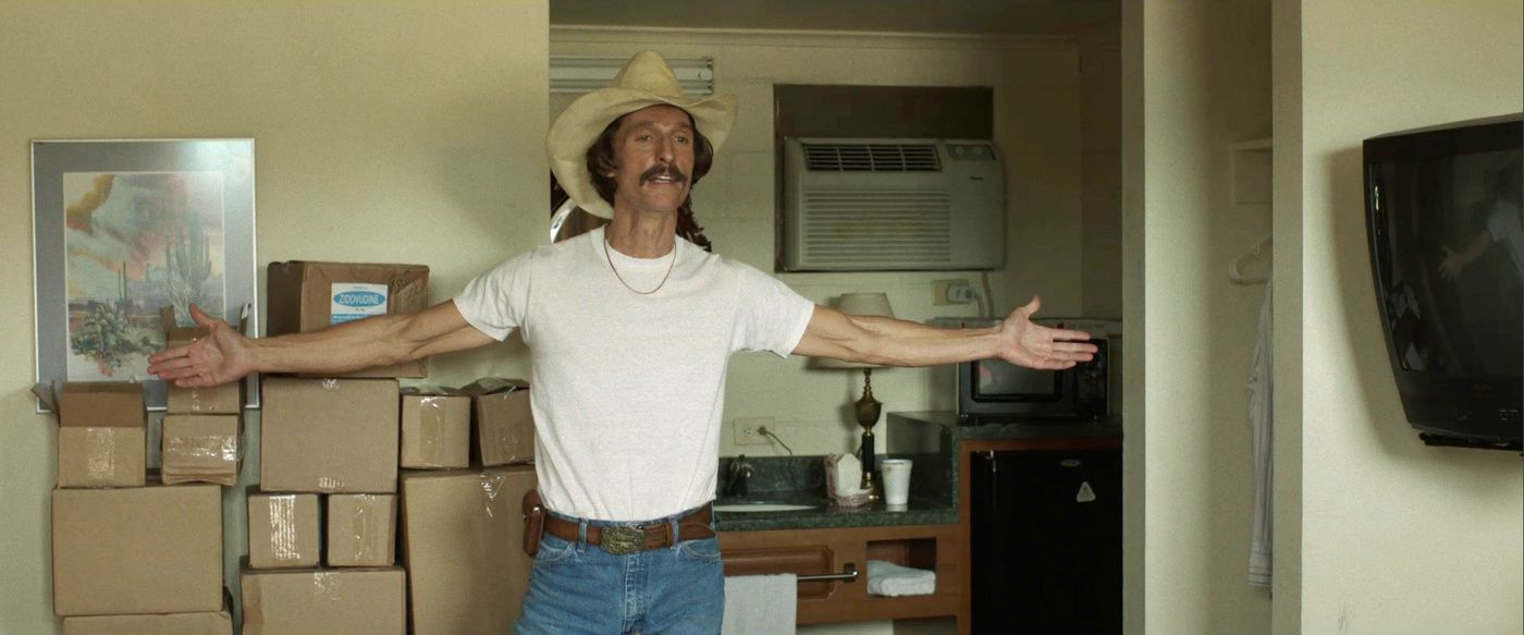 Ron Woodroof, dans Dallas Buyers Club de Jean-Marc Vallée (2012)