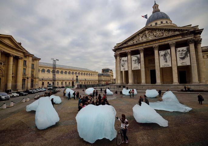 Des icebergs au Panthéon