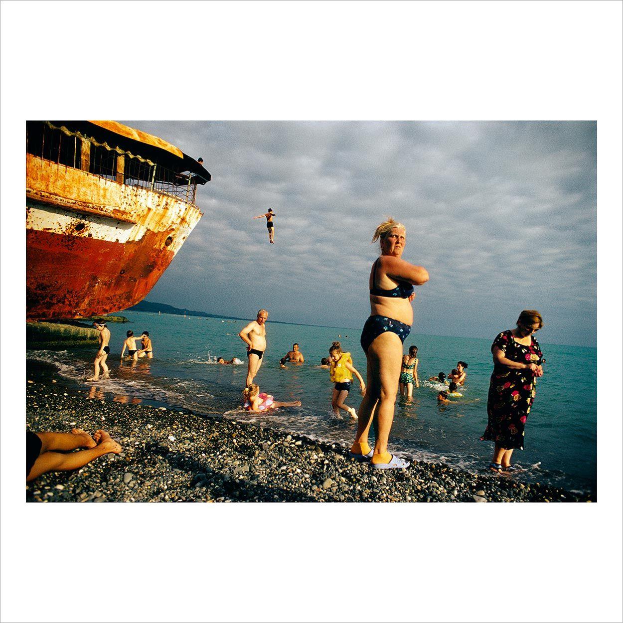 Sukhumi Beach, Abkhazia, 2005. © Jonas Bendiksen/Magnum Photos