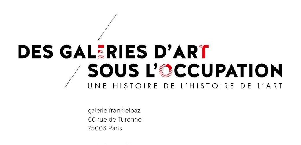 Des galeries d'art sous l'Occupation : dialogue entre une chercheuse et un galeriste