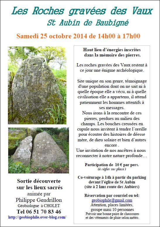 Calendrier ateliers/formations/sorties 2014