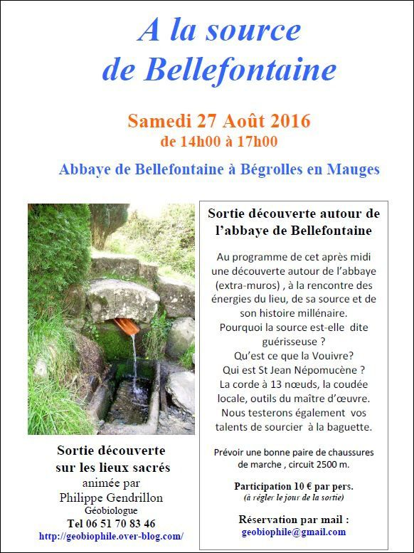 A la source de Bellefontaine le 27.08.2016