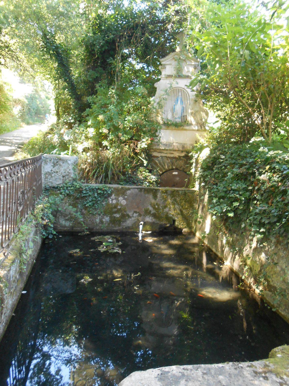 Nouveau circuit des fontaines guérisseuses le 22/07/2017