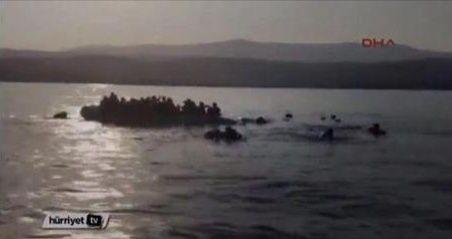 Des garde-côtes grecs tentent de couler un bateau de migrants!