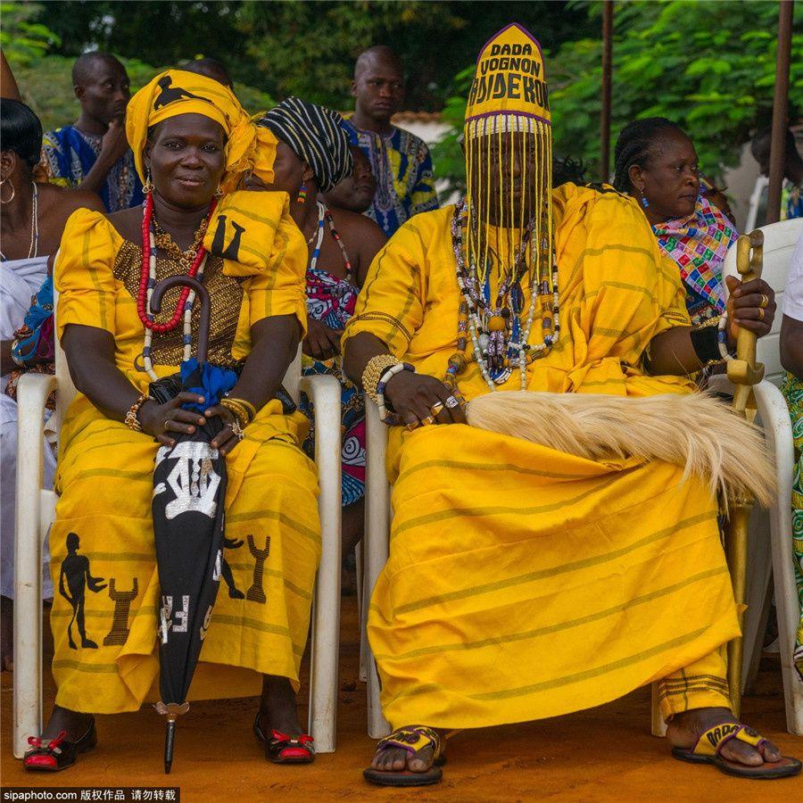 Portrait des rois du Bénin par Eric Lafforgue |...