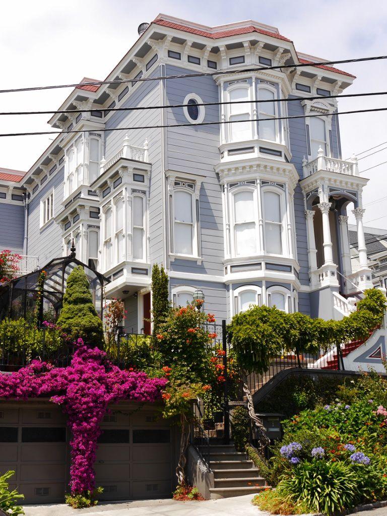 Les maisons victoriennes de San Francisco...
