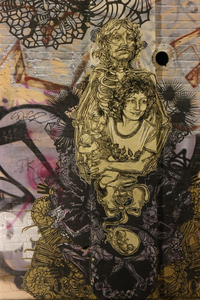 Oeuvres de SWOON - photos by Chry Nuit blanches