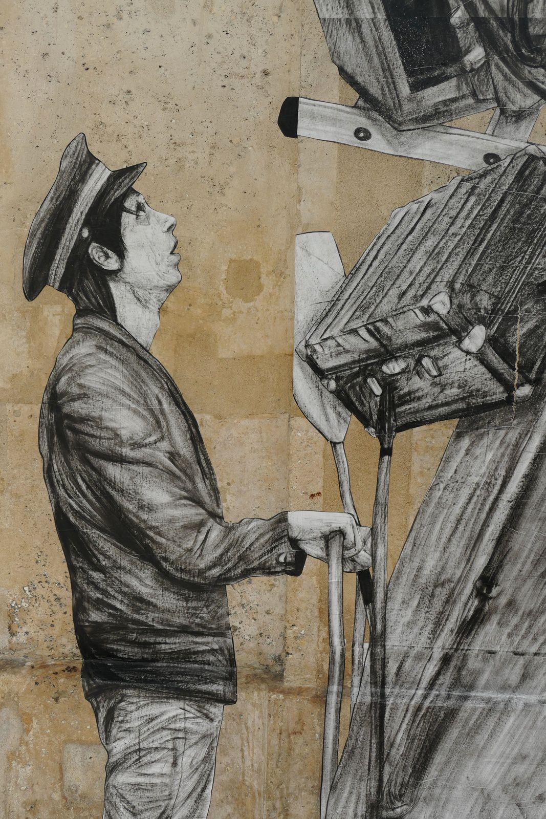 oeuvres de Levalet http://www.levalet.org/ photos by Chry 8 juillet 2015