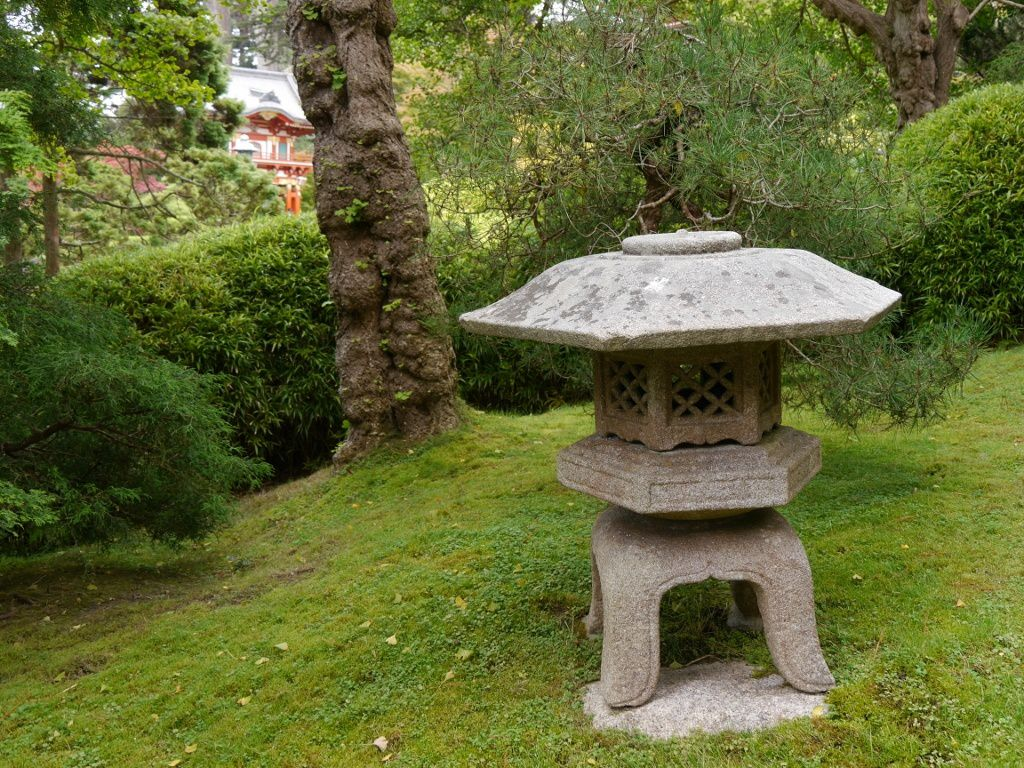 Japanease Tea Garden, Golden Gate Park, San Francisco, Californie, USA, été 2013