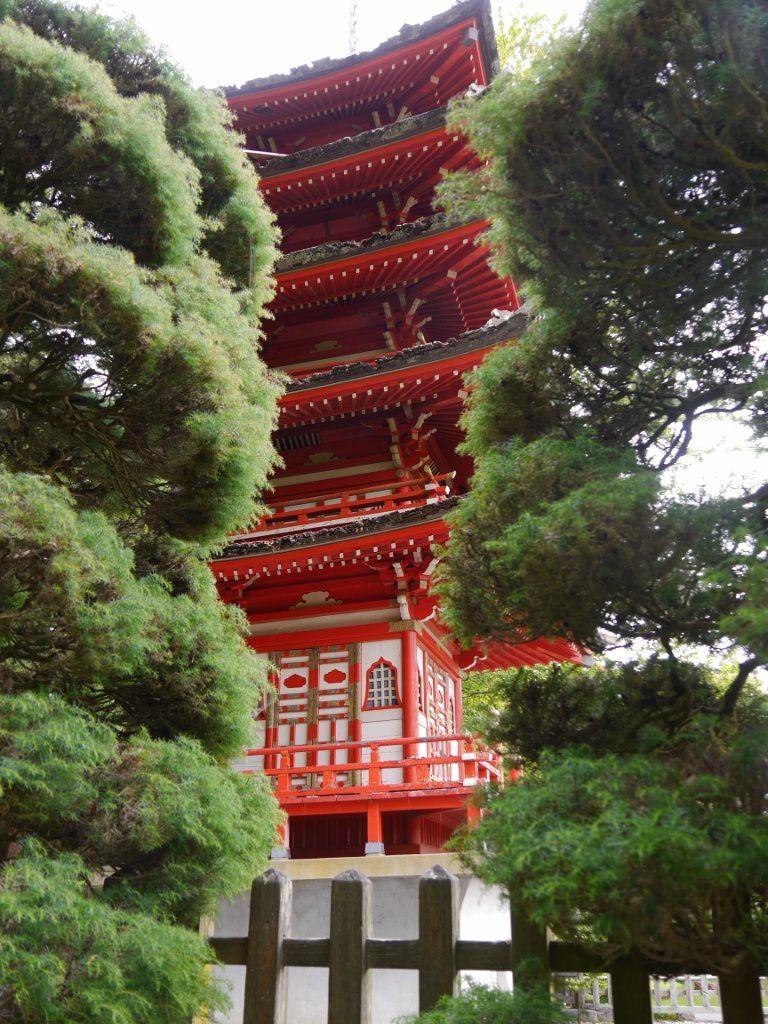 Japanease Tea Garden, Golden Gate Park, San Francisco, Californie, USA, été 2013