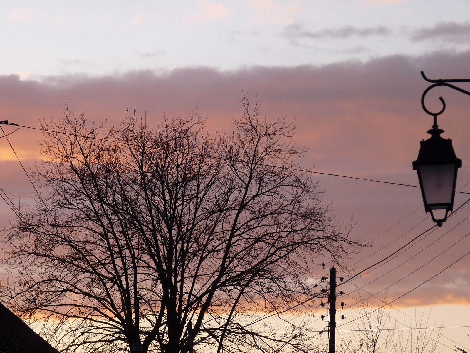 ...L'indécente chatoyance du ciel après la tempête...