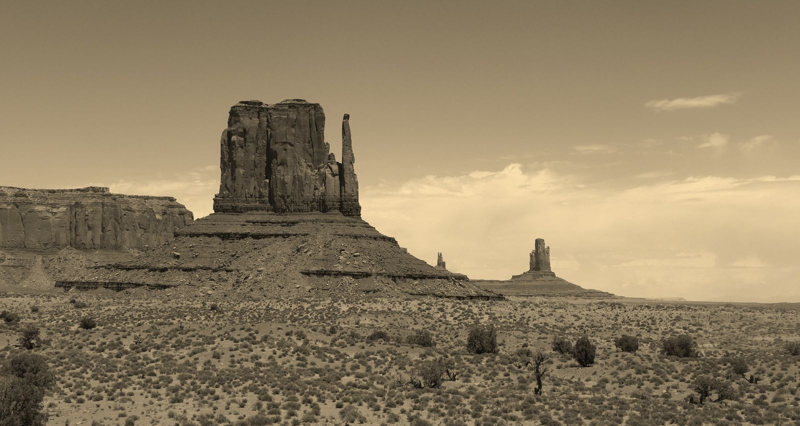 Monument valley, Arizona/Utha , USA, by Chry