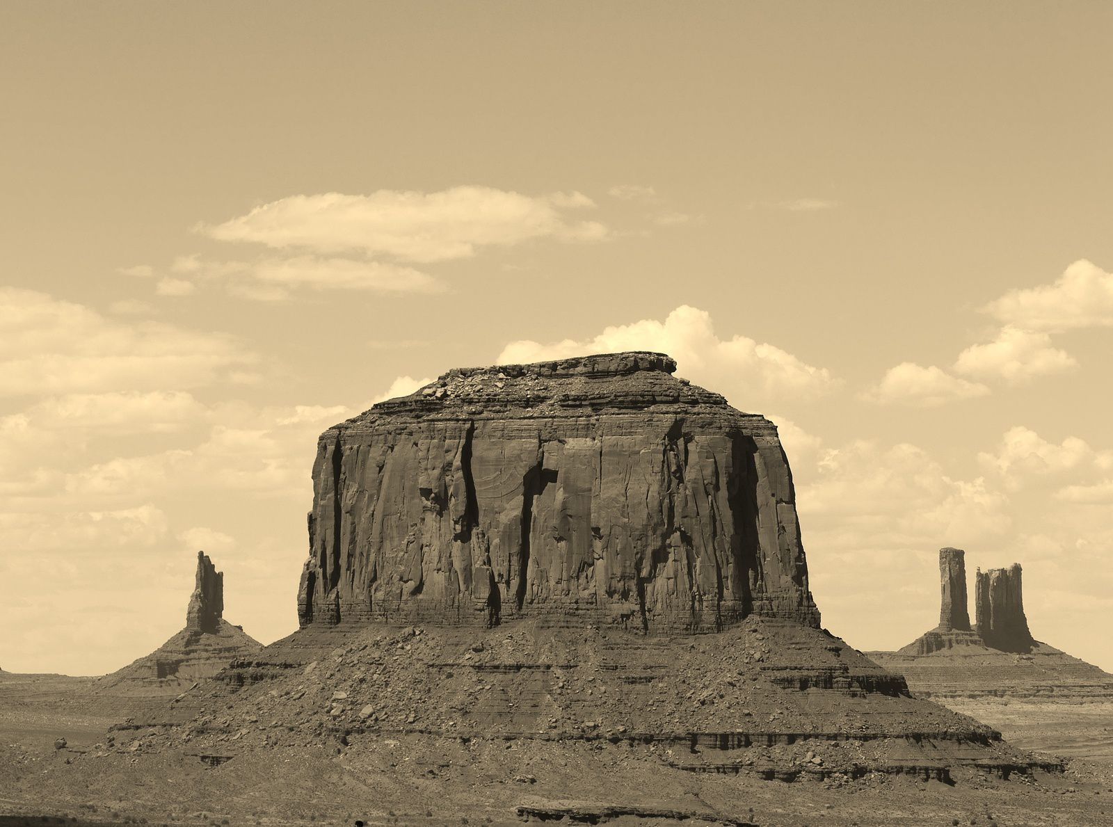 Monument valley, Arizona/Utha , USA, by Chry