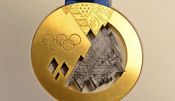 Olympische Goldmedaille