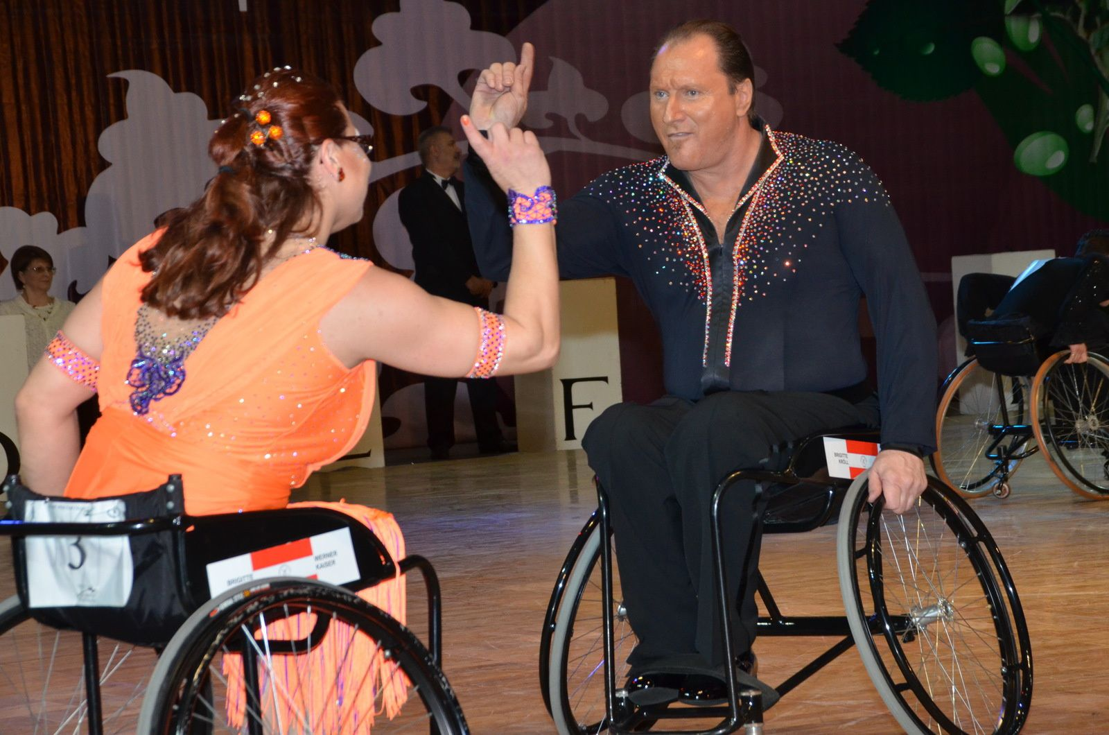 Nationalteam Wheelchairdancesport mit 2 Bronzemedaillen aus Russland zurück