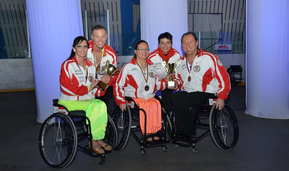 Nationalteam Wheelchairdancesport