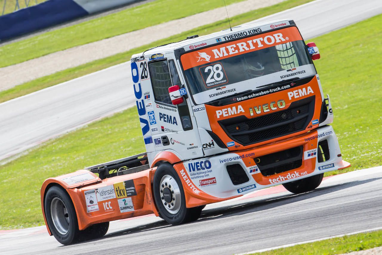 Markus Altenstrasser - Truck Race Trophy 2015 - Foto: Manfred Binder