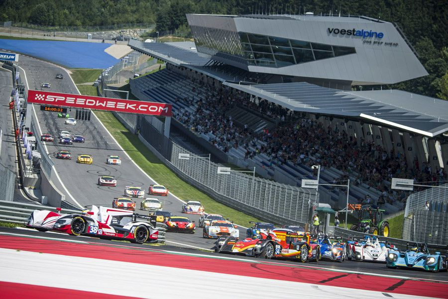 Spielberg ELMS Start (c) Philip Platzer Red Bull Content Pool