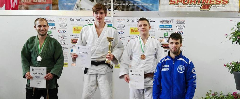Gabriel Lukanovic - Platz 5 beim internationalen Judo Turnier in Zeltweg am 22.5.2016
