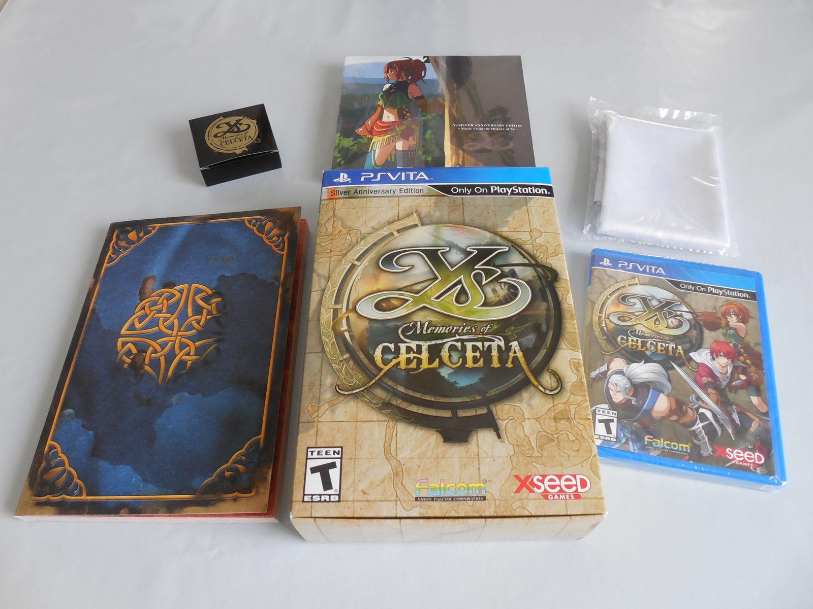 [Collection] PS Vita Ys - Memories of Celceta - Silver Anniversary Edition