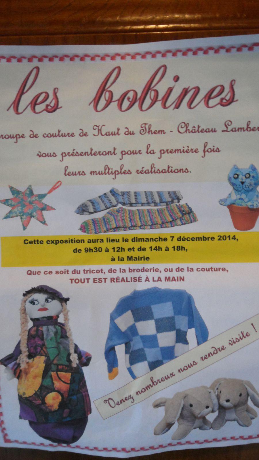 Exposition culturelle à Haut Du Them Chateau-Lambert